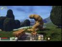 Blockscape - Bomb throwing test