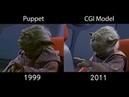 All Yoda Scenes Comparison - The Phantom Menace [1080p HD]