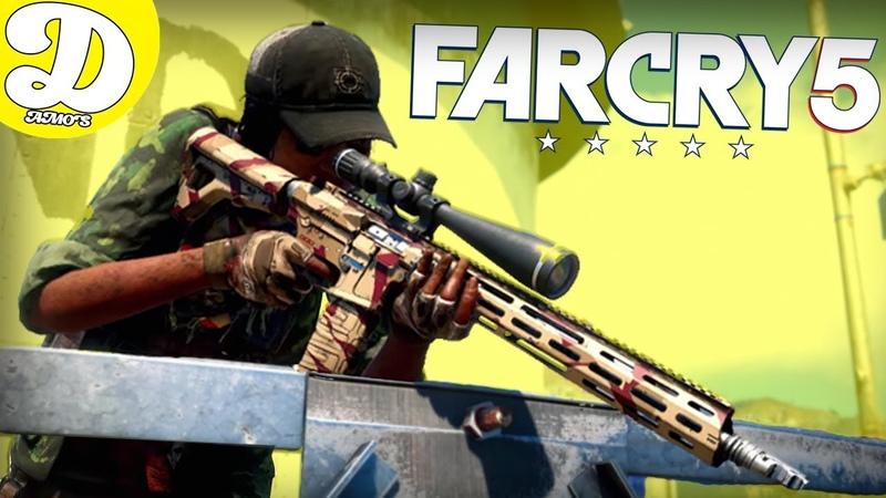 СЕСТРА САШИ ГРЕЙ В ФАР КРАЙ 5! Far Cry 5,ФАРКРАЙ5