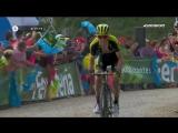 Триумфальный финиш Саймона Йейтса, который выиграл этап и вернул красную майку