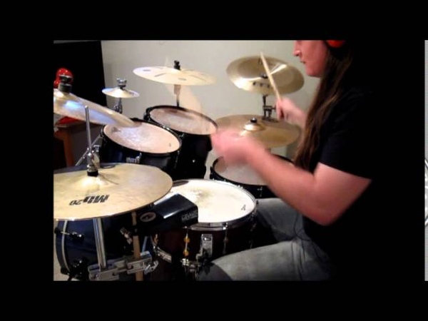 Suicide Silence - Genocide drum cover