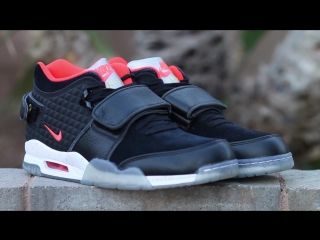REVIEW ON FOOT_ NIKE AIR TRAINER VICTOR CRUZ MEMORY OF MIKE AND BONE