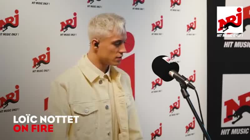 Loïc Nottet - On Fire (live bij NRJ)