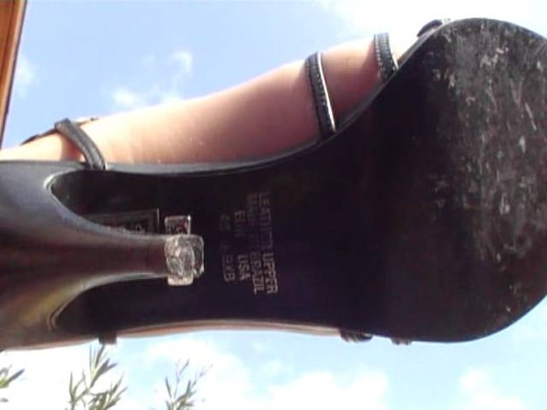 Shoeplay in Buffalo Sandals
