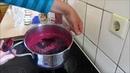 Marmelade ohne Gelierzucker einkochen - Holunderbeermarmelade - Marmelade selber machen DIY