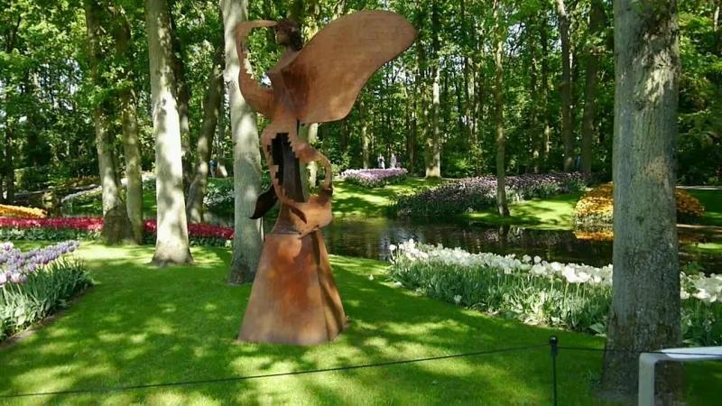 Голландия парк цветов kuekenhof май 2016г.
