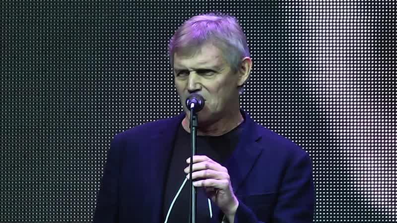 А Панюков поет блюз-Шанхай в эвент холле 2018