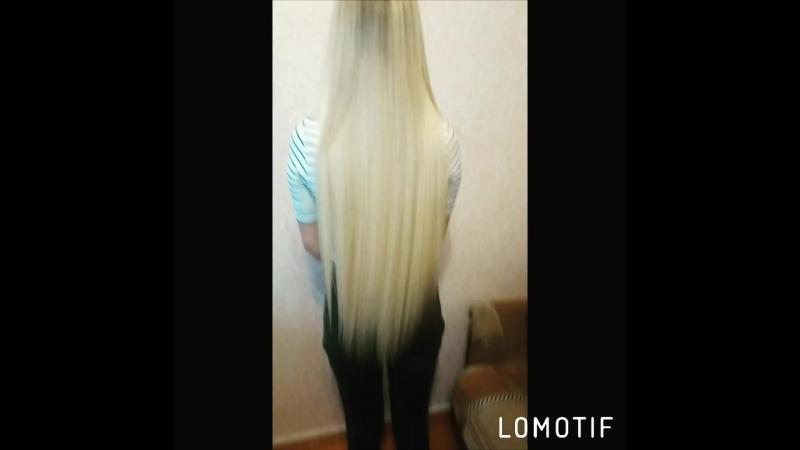 Кератиновое выпрямление и восстановление волос на нарощенные волосы