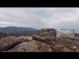Turkish army shoot 9M133 Kornet on ypg terrorists afrin 2018 olivebranch