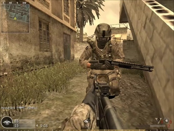 Call of Duty 4 Modern Warfare Multiplayer gameplay
