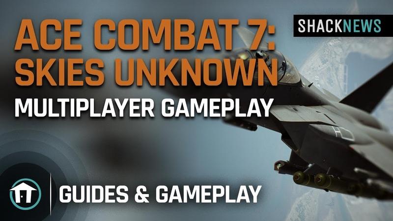 Ace Combat 7 Skies Unknown Online Gameplay
