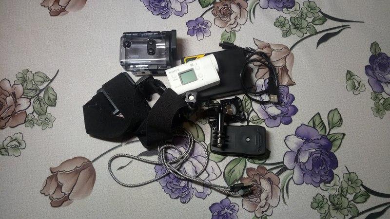 Обзор камеры SONY HDR AS300! Испытания в Якутии!