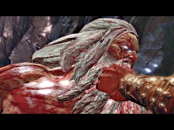 God of War 3 - Kratos Defeats Zeus Gaia (Zeus Final Boss)