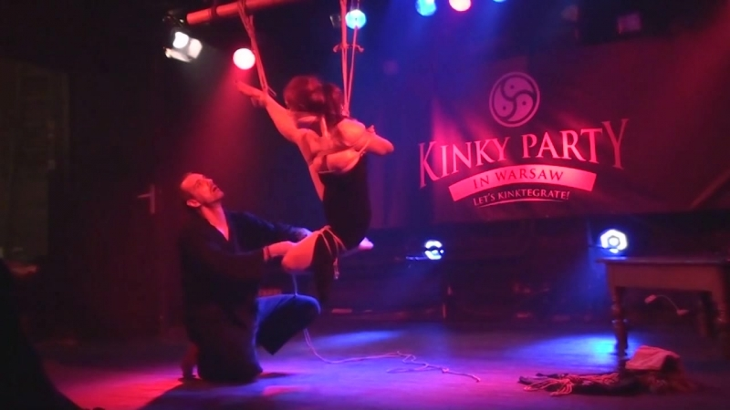 Kinky Party 7 Kinbaku Luxuria performance HD