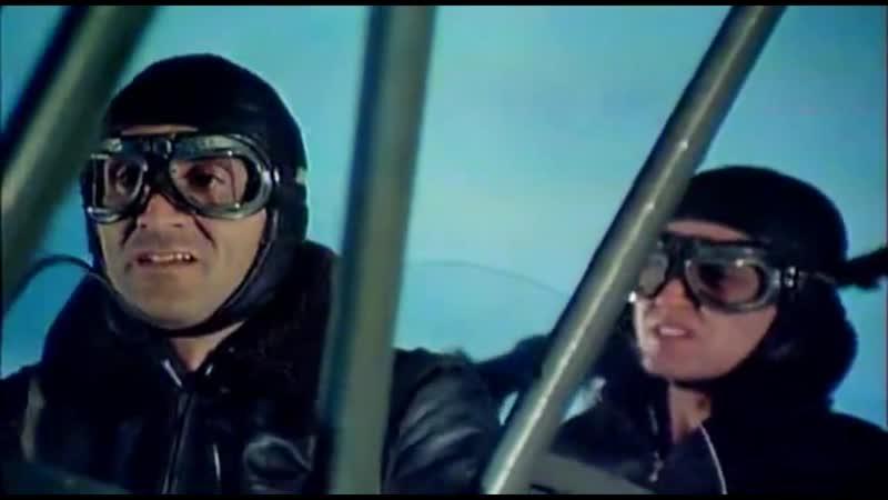 Партизанская эскадрилья 1979 Штурмовка партизанским бипланом немецкого эшелона
