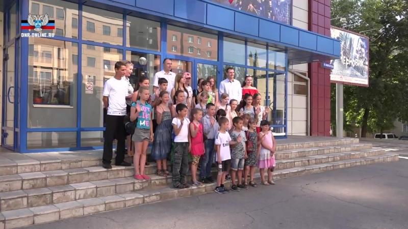 Общественный штаб организовал кинопоказ для школьников Петровского района.