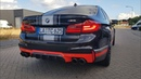 BMW M5 F90 with Akrapovic Exhaust LOUD Revs SOUNDS