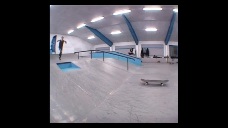 Fronflip to fakie