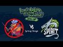 NoPangolier vs. Team Spirit | bo2 (game 2)