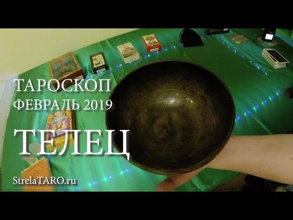 ТЕЛЕЦ таро гороскоп на месяц ФЕВРАЛЬ 2019