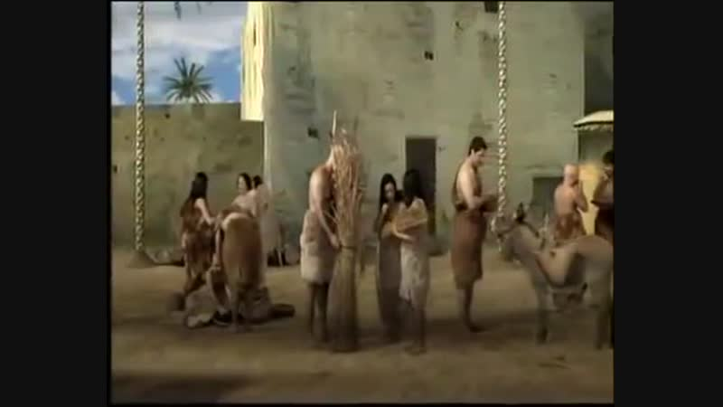 Шумерский город 2000 BC - Анимация