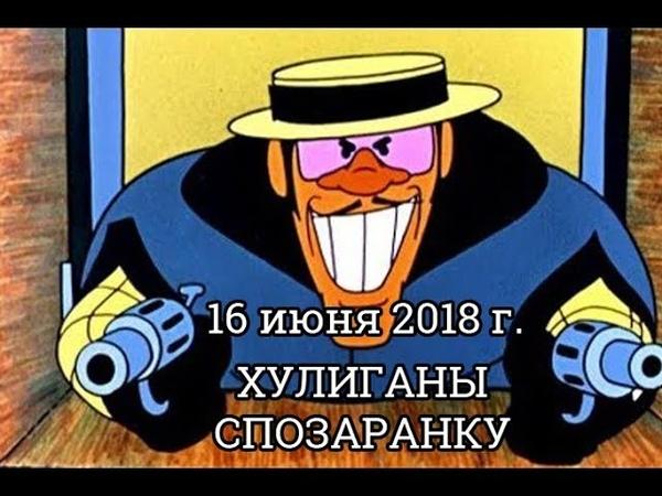 гоп стоп. 16 июня 2018 Вишневогорск
