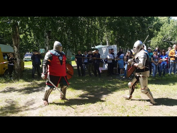 А.Галкин(Байард) - Р. Шевяков (Гридень) триатлон (щит- меч)