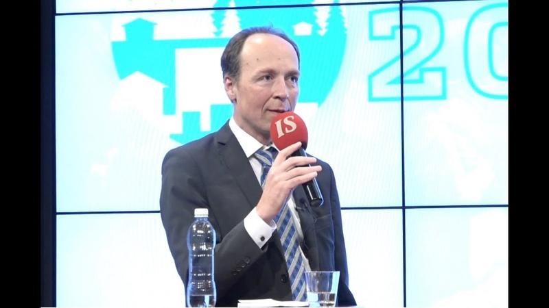 Puoluejohtajatentti | Jussi Halla-aho, Li Andersson, Pekka Haavisto