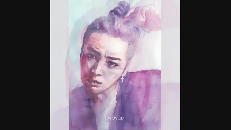 Jang Keun Suk 🎨 Eve Yap Art Corner