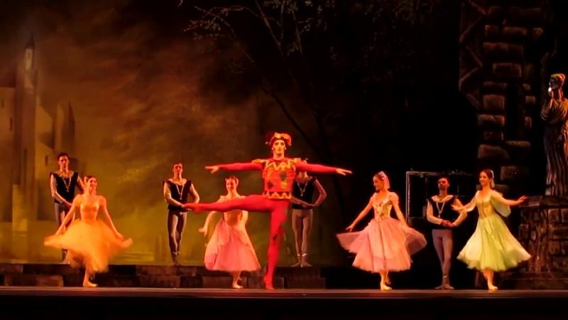 Лебединое озеро. Кремлевский балет. Шут - Дмитрий Прусаков.