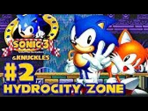 Sonic 3 Knuckles HD part 2 ► Hydrocity