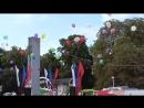 В небо запустили шарики, город Орёл, день города Орла, 5 августа 2018 год