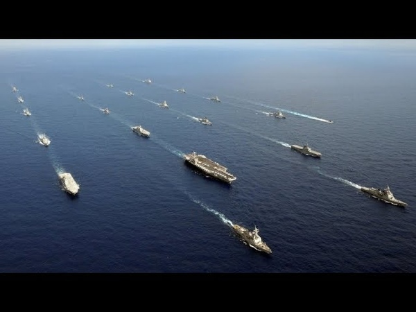 COALITION INVASION ARMADA AMASSING OFF GRENADA(!) 20 HEAVILY ARMED WARSHIPS ON STANDBY(!)