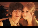 ♫ G Harrison *1966 With his new wife the model Pattie Boyd