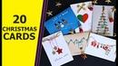 20 DIY GREETING CARD IDEAS Christmas Card Ideas Aloha Crafts