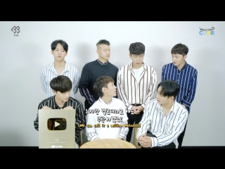 [OFFICIAL] 16.04.2018: BTOB - Youtube Golden Play Button Unboxing