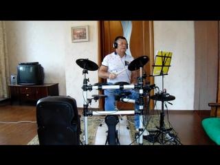MAH01410A Twist in the Tale(Поворот в истории)Deep Purple(1993g)drum cover Pautov W