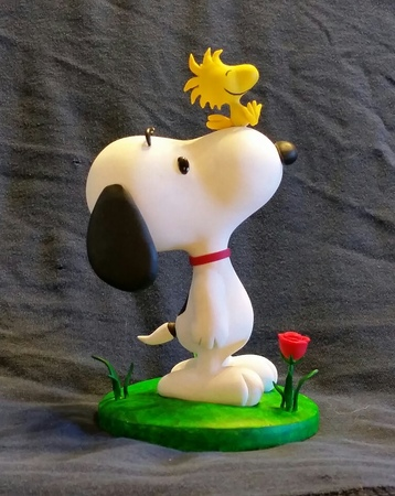 Polymer Clay Snoopy timelapse