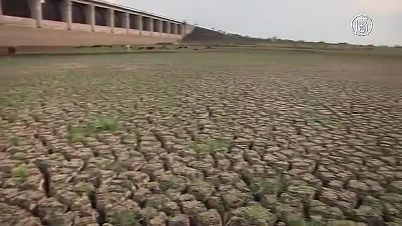 Индия в район засухи пустили поезд с водой
