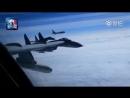 Су 35C ВВС НОАК провели боевые учения в западной части Тихого океана