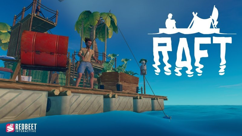 Raft - Launch Trailer ( early access )
