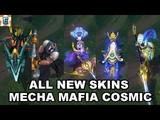 All New Skins - Mecha Aurelion Sol - Mafia Braum - Cosmic Ashe Lulu Xin Zhao - League of Legends
