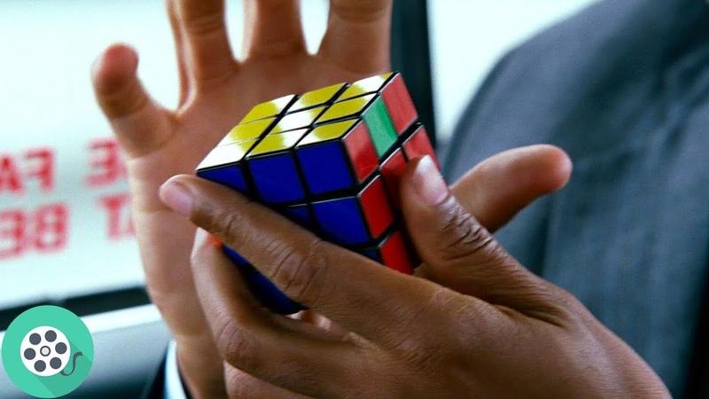 Крис Гарднер успел собрать кубик Рубика пока давал эксклюзивное интервью В погоне за счастьем