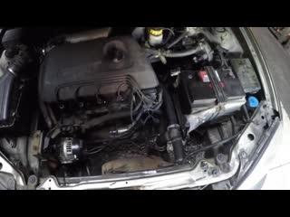 Завершился ремонт двигателя