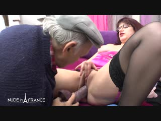 Mf300011_charlotte lapyne, papy voyeur - the real chubby redhead french maid gets plugged