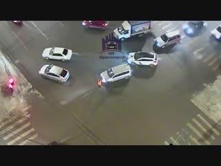 Ленина - Робеспьера 17.01.2019 ЧП Красноярск