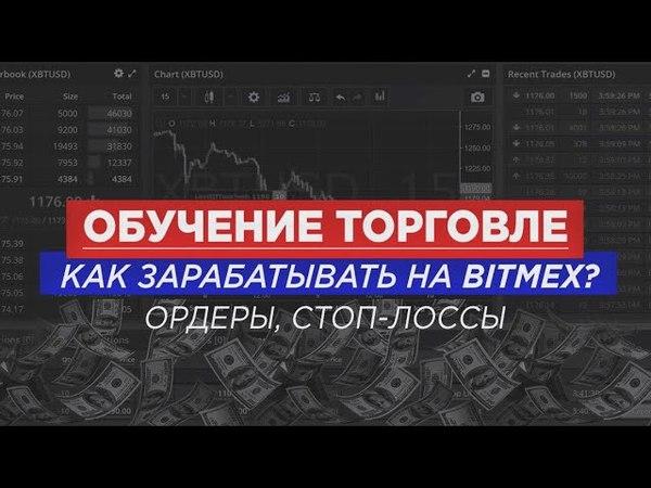 BITMEX | Типы ордеров | Как использовать Stop-loss | Как зарабатывать на бирже Bitmex