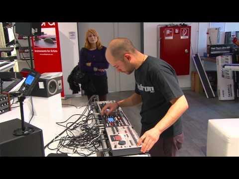 Project Dataline live on Monomachine / Machinedrum / Octatrack @ Music Store Cologne