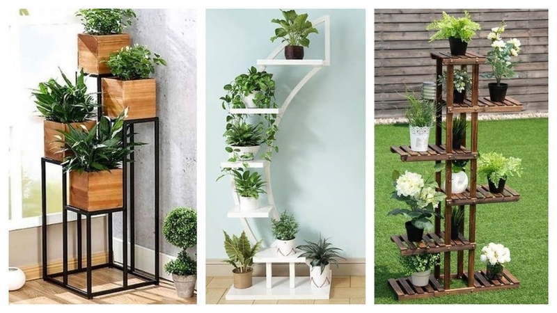 Projetos para economizar espaço 12 Suportes verticais para plantas