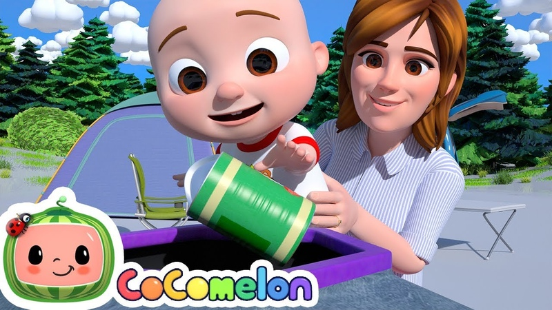 Clean Up Trash Song Cocomelon ABCkidTV Nursery Rhymes